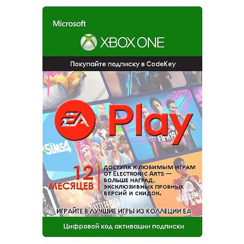 Подписка EA Play (EA Access) Xbox One 12 месяцев