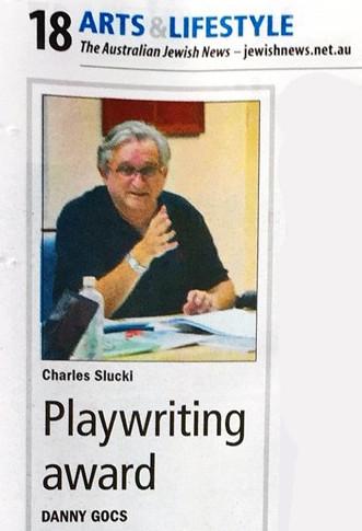 Charles Slucki Playwriting Award