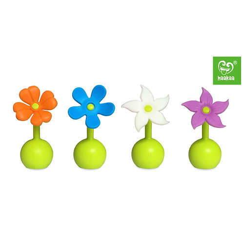 Silicone Breast Pump Flower Stopper (Any 1 out of 4)