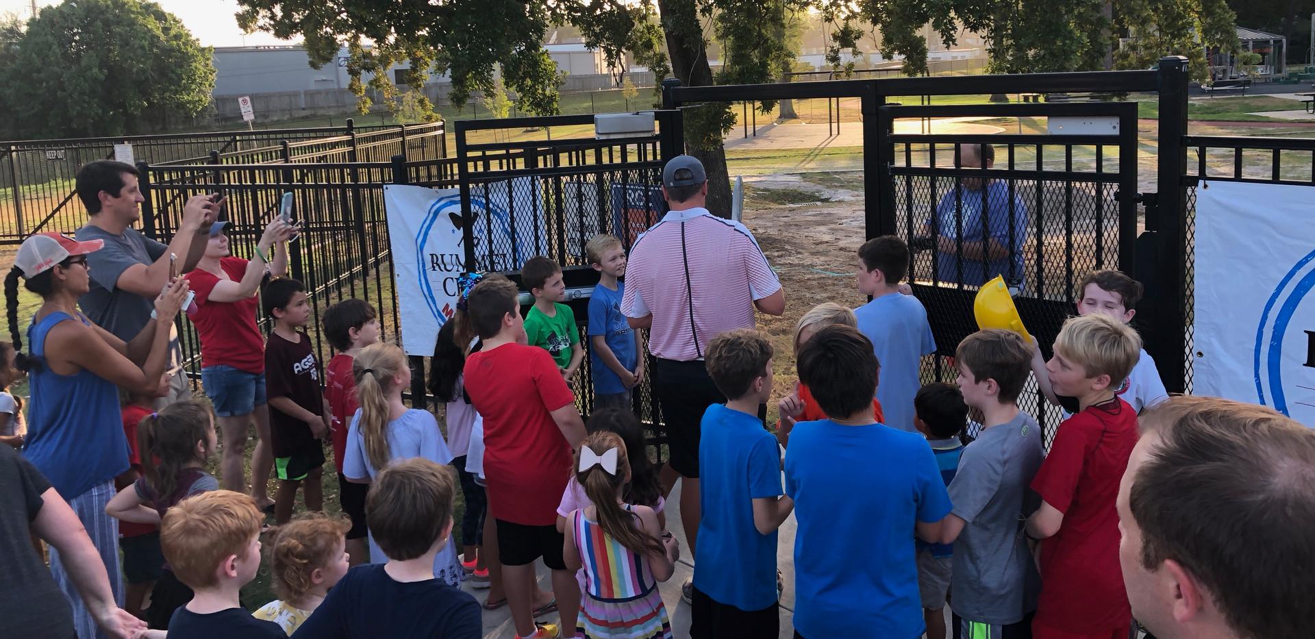Playground Re-opening