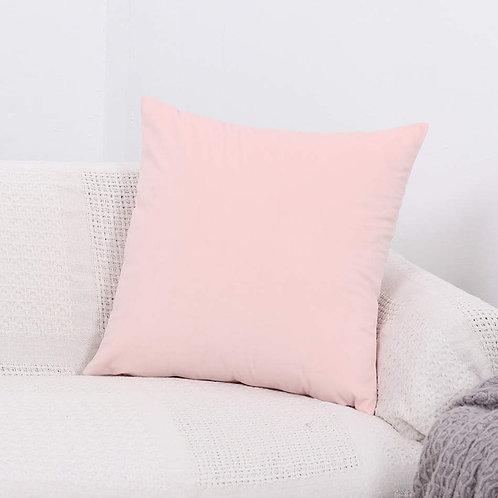 Velvet Cushion Cover (Pink)