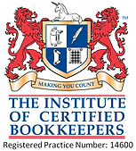 Accredited with the Institute of Certified Bookkeepers
