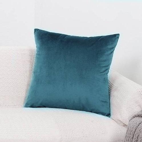 Soft Velvet Cushion Cover - Teal