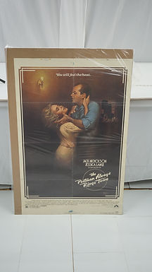 1981 Movie Poster - The Postman Always Rings Twice