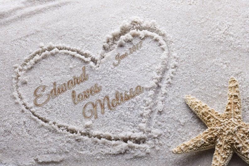 Beach Wedding Gift