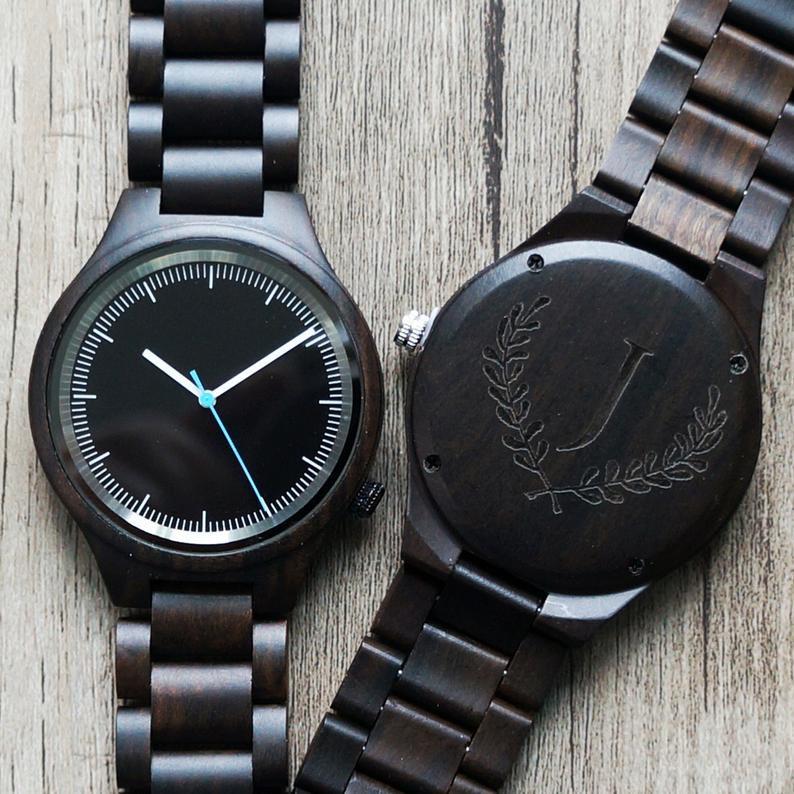Engraved Men's Watch