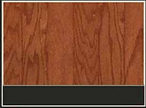 Red stained hardwood flooring with vibrant grain running along vertically oriented planks.