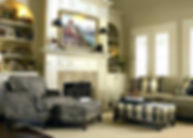 Smith Brothers living room furniture scene