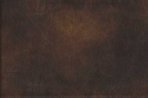 A brown textured leather swatch