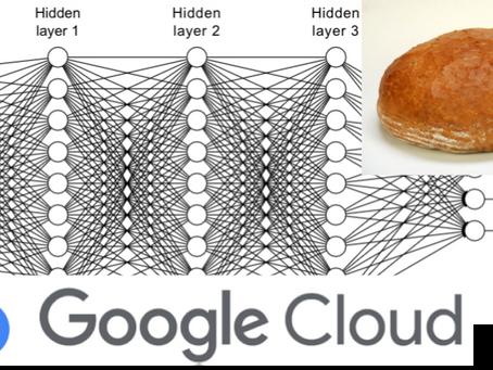 Odhady prodejů pečiva pomocí umělé inteligence Google