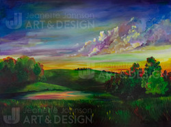 """""""Pasture Pond"""" by Jeanette Johnson"""