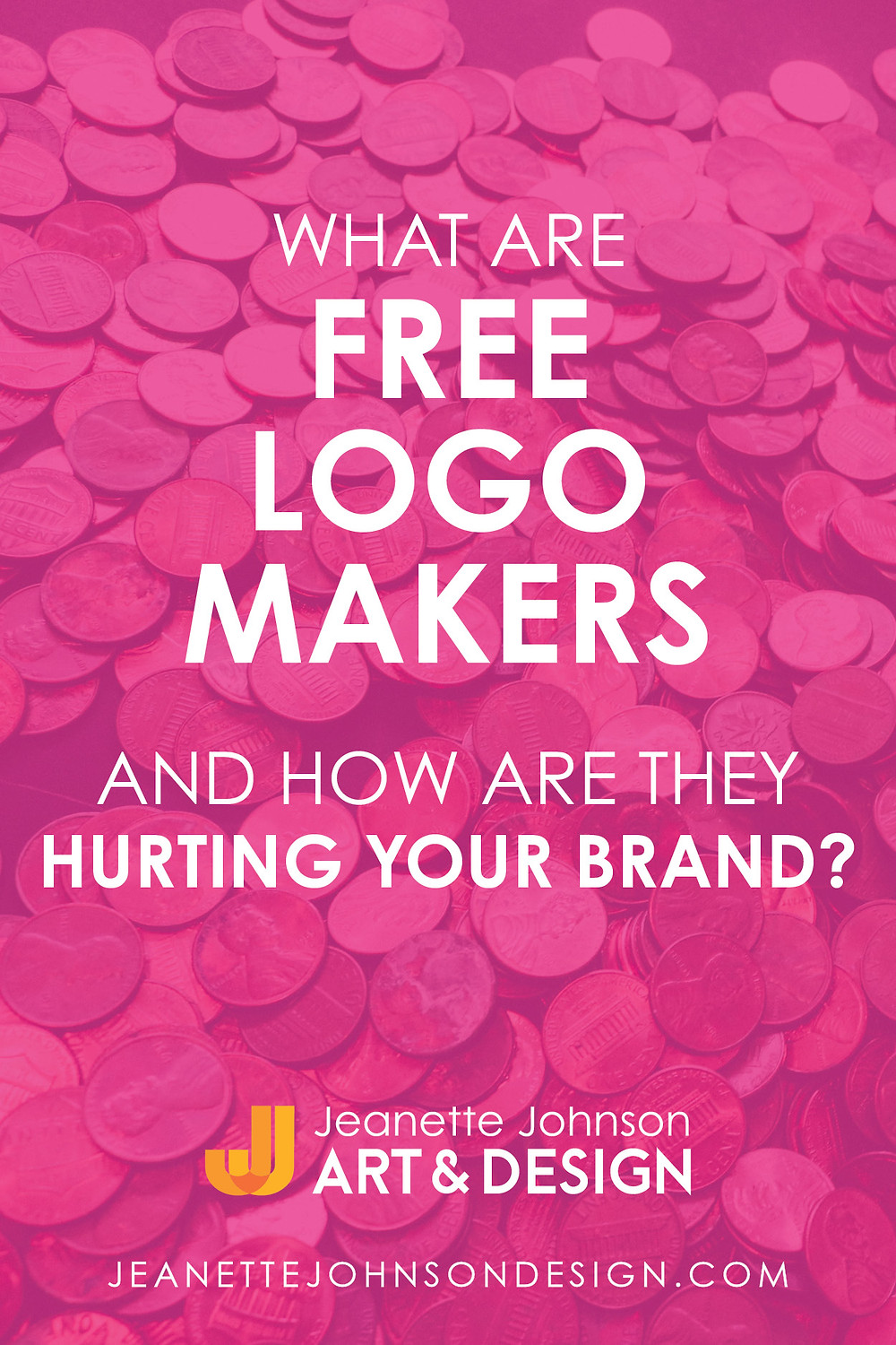 Pin image for What are Free Logo Makers Article.