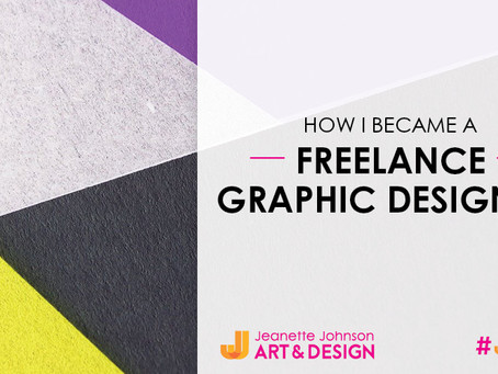 How I Became A Freelance Graphic Designer.