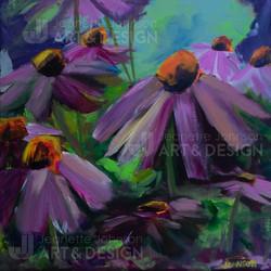 """""""Coneflower Study II"""" by Jeanette Johnson"""
