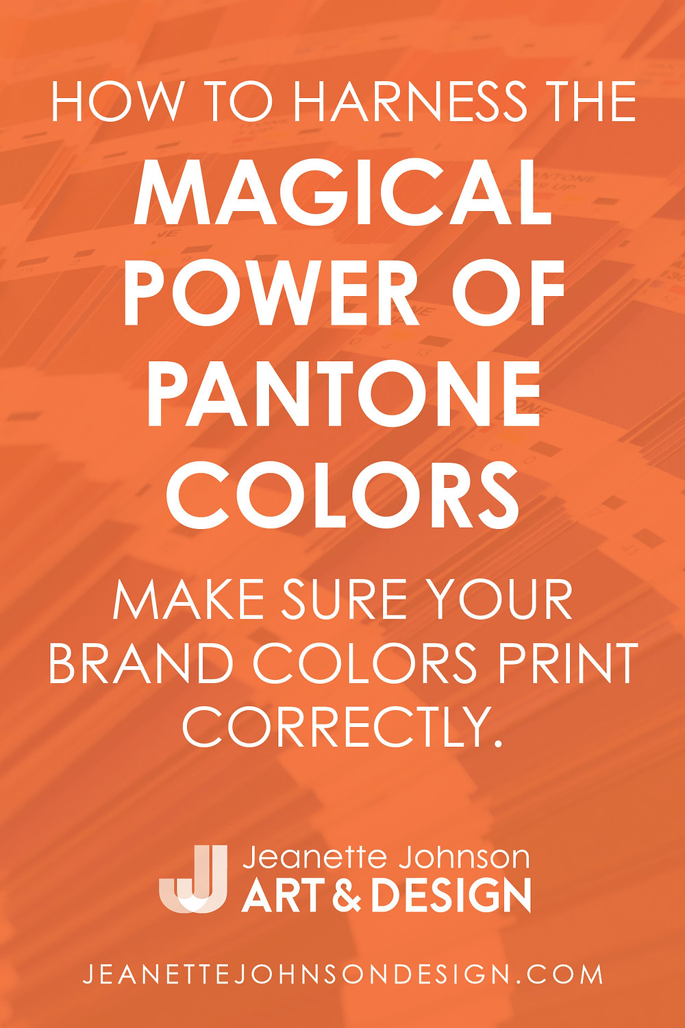Pin image for How to Harness the Magical Power of Pantone Colors article.