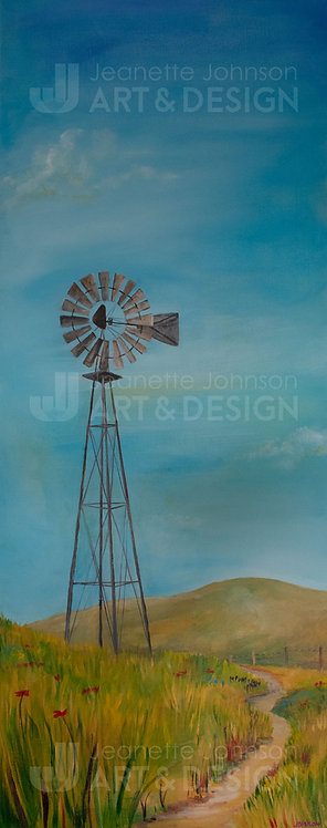 The Windmill - Stretched Canvas Reproduction