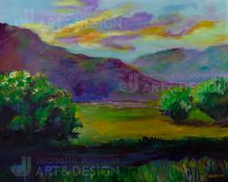 """""""Creekside"""" by Jeanette Johnson"""