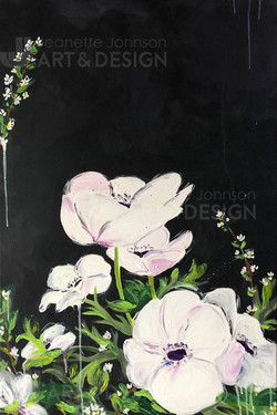 """Anemone: White On Black"""