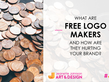 What are free logo makers and how are they hurting your brand?