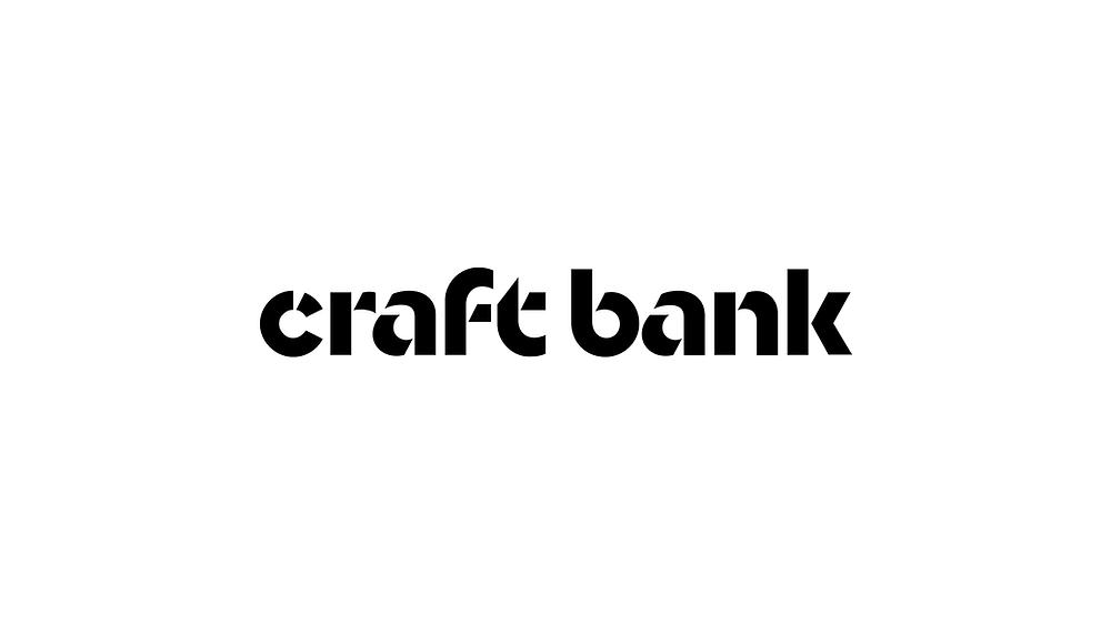 Craftbank logo redesign.
