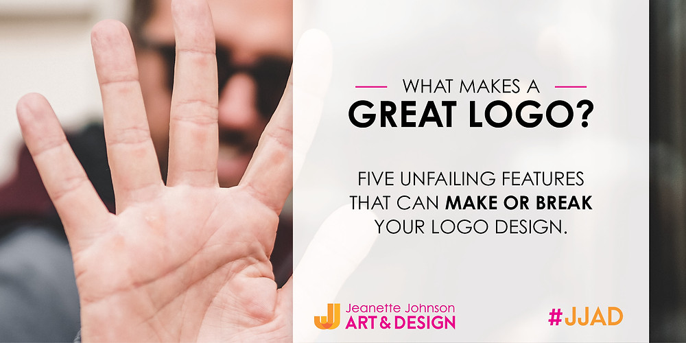 What are the five things that make a great logo?