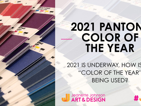 What is the 2021 Pantone Color of the Year and how is it being used so far?