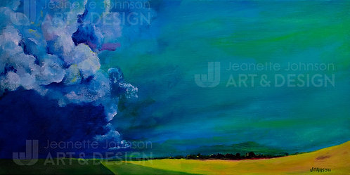 Broad Storm - Stretched Canvas Reproduction