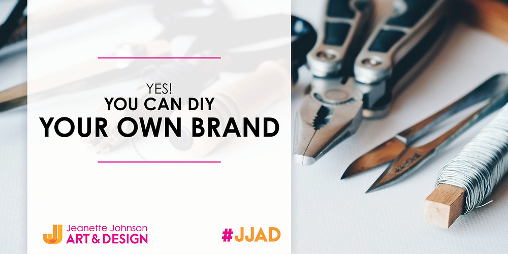 How to build your own brand image with crafting tools in the background.