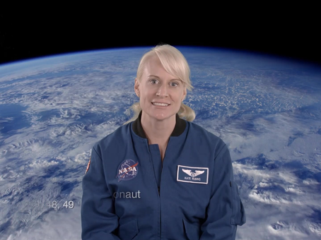 International Women in Engineering Day - Kate Rubbins. Astronaut, NASA.