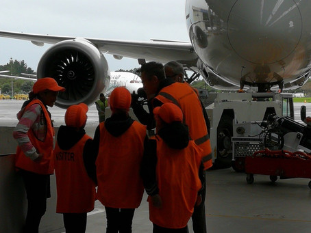 Air New Zealand 'Rosies' show what it's like to be an Air New Zealand engineer.