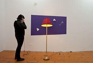 """Performance, spoken word, audio, NaoKo TakaHashi, De-Missing of Page(s) of """"Agencies of Knowing the Unspoken"""""""