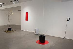 Installation art, NaoKo TakaHashi, Spectrum of the Writing on the Wall, Ragart, Qubec, Canada