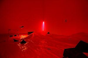 Installation art, NaoKo TakaHashi, Stubbornly Persistent Illusion, IMT Gallery