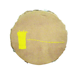 drawing stitching, jerusalem, NaoKo TakaHashi, GoldenScape, West bank