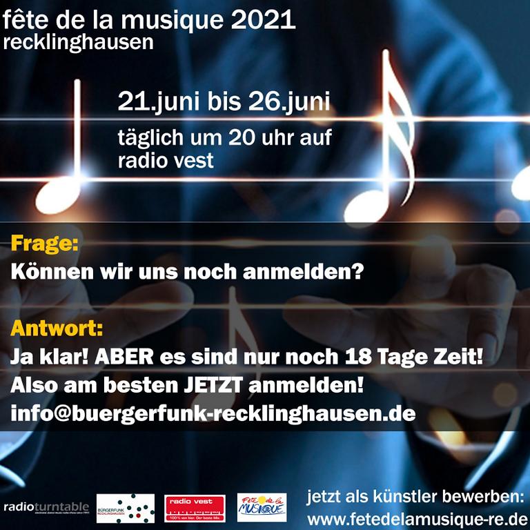 Fete De La Musique 2021 - Online