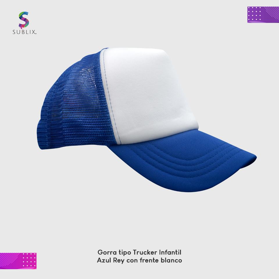 gorra infantil azul rey