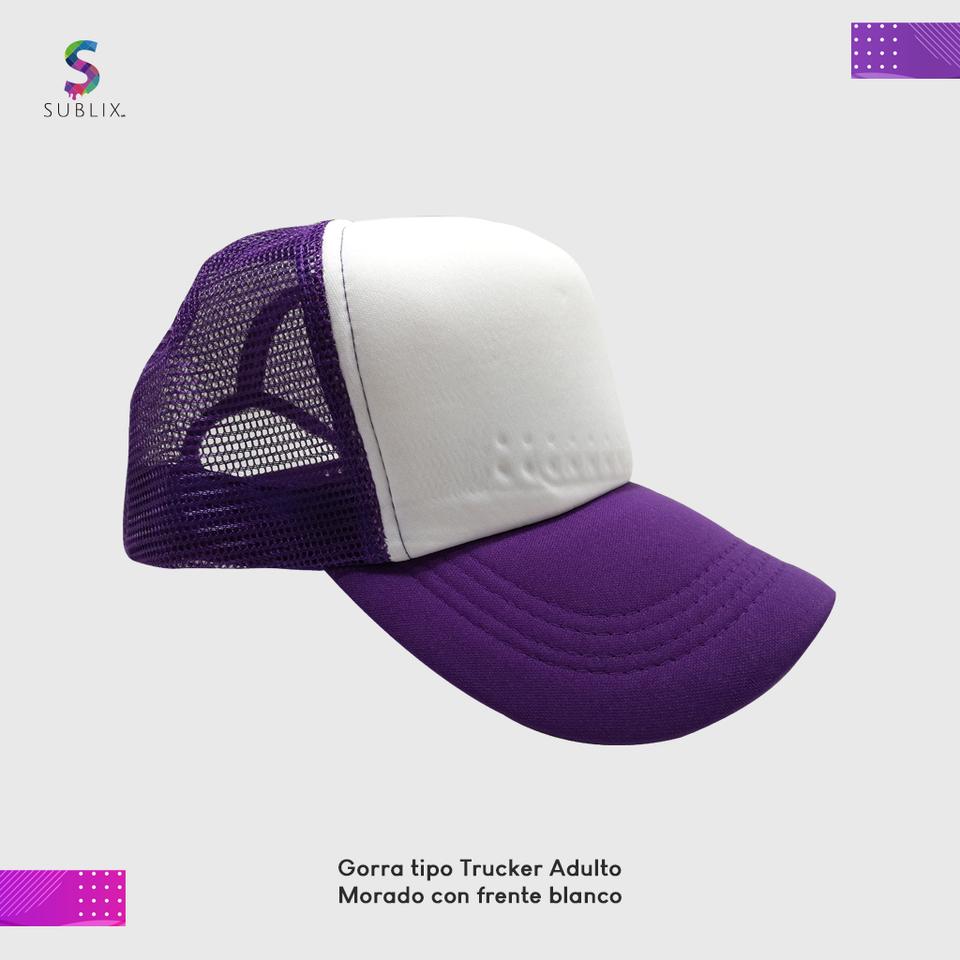 gorra adulto Morado