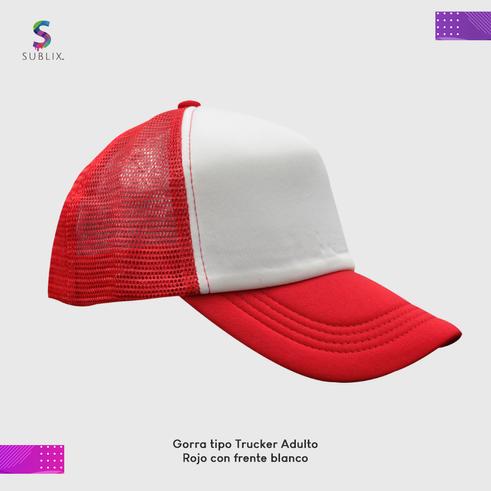 gorra adulto Rojo