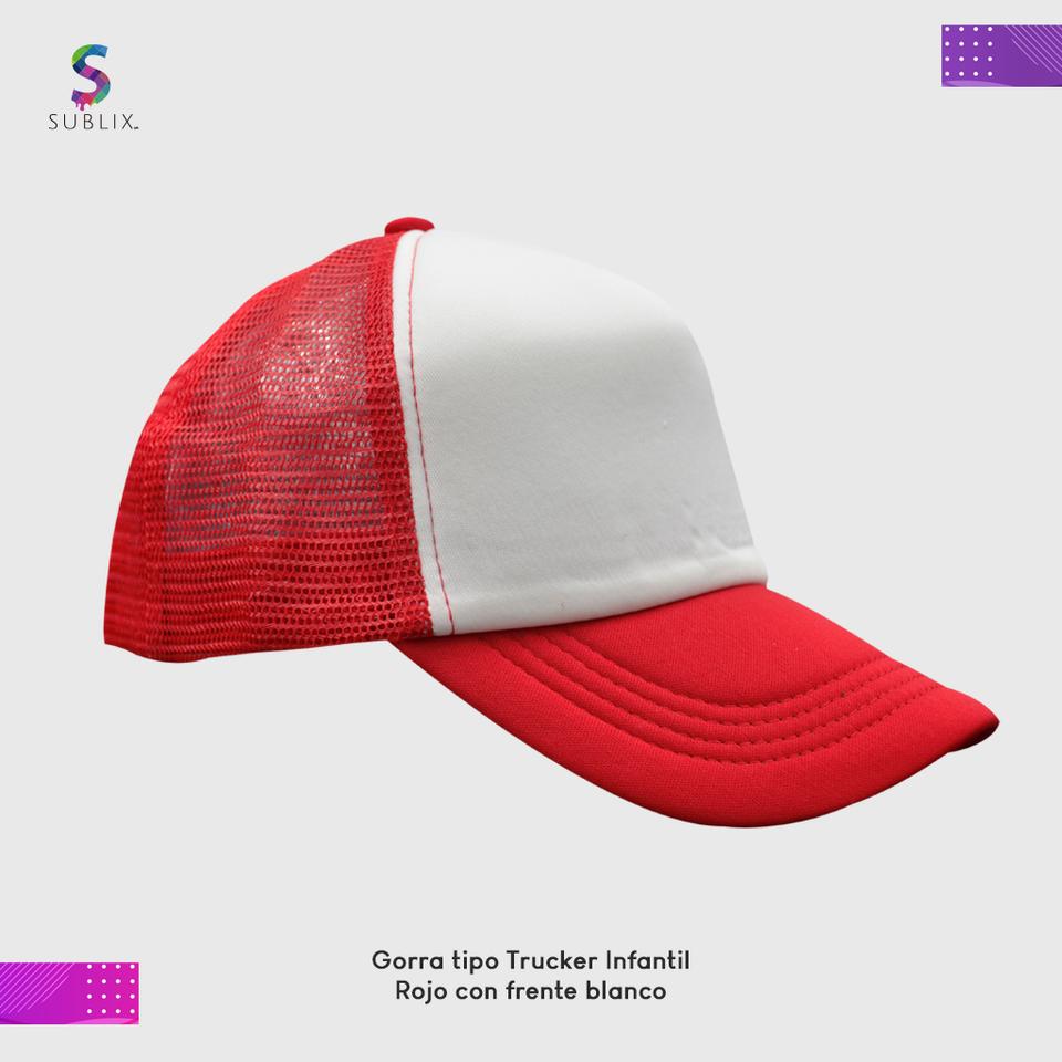 gorra infantil rojo