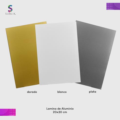 Placa de aluminio 20x30cm