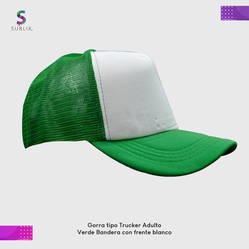 gorra adulto verde Bandera