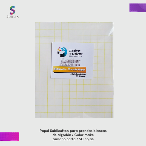 Papel Sublicotton