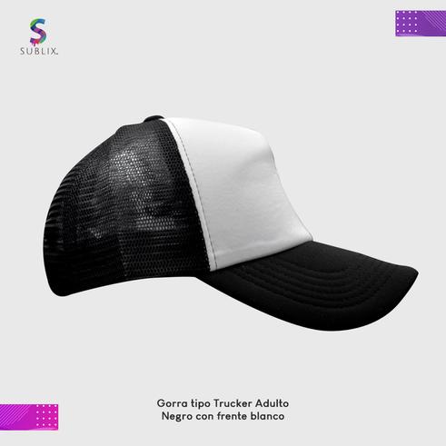 gorra adulto negro