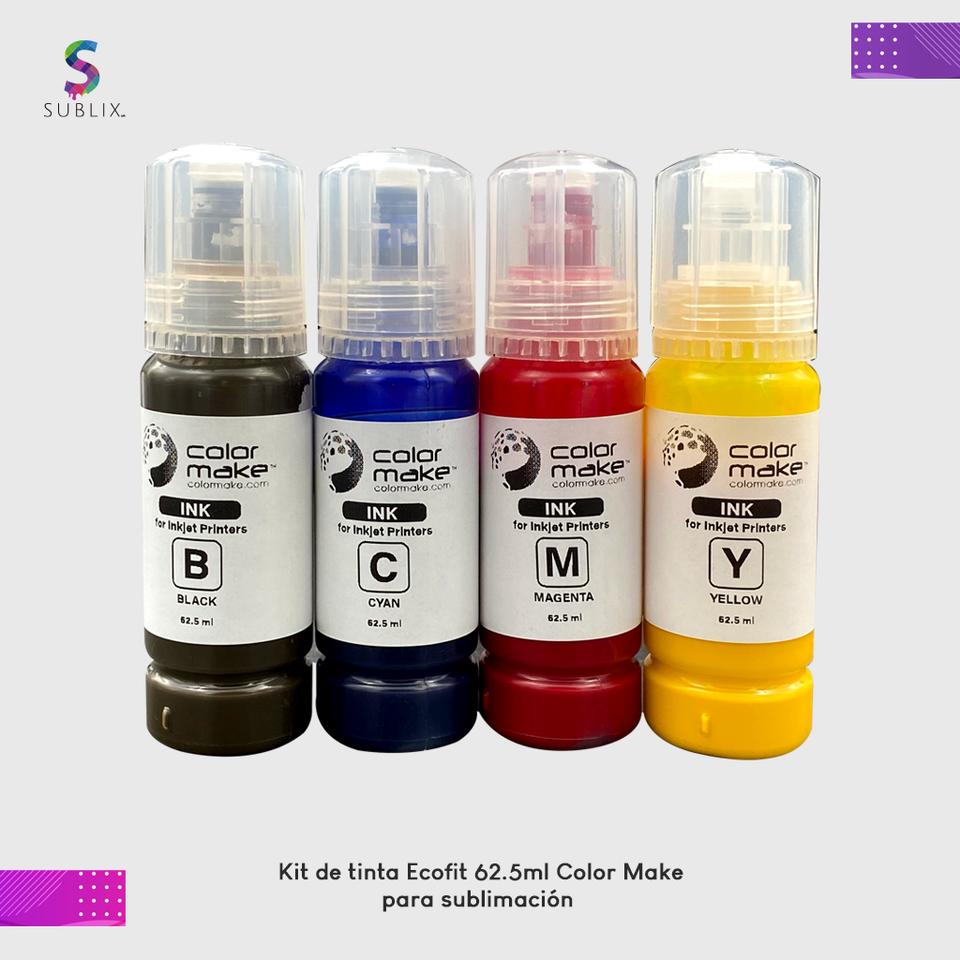 Kit de tinta ecofit 62ml
