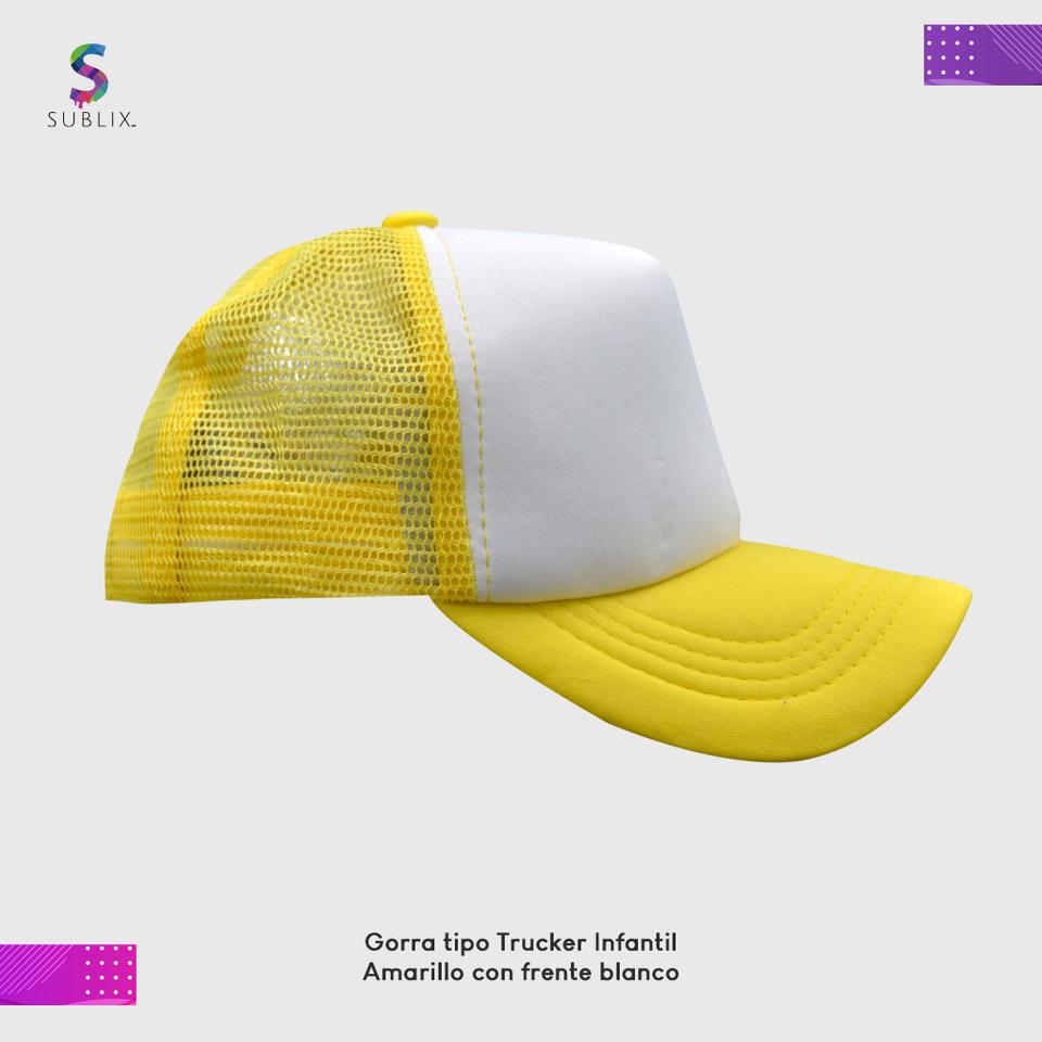 gorra infantil amarillo