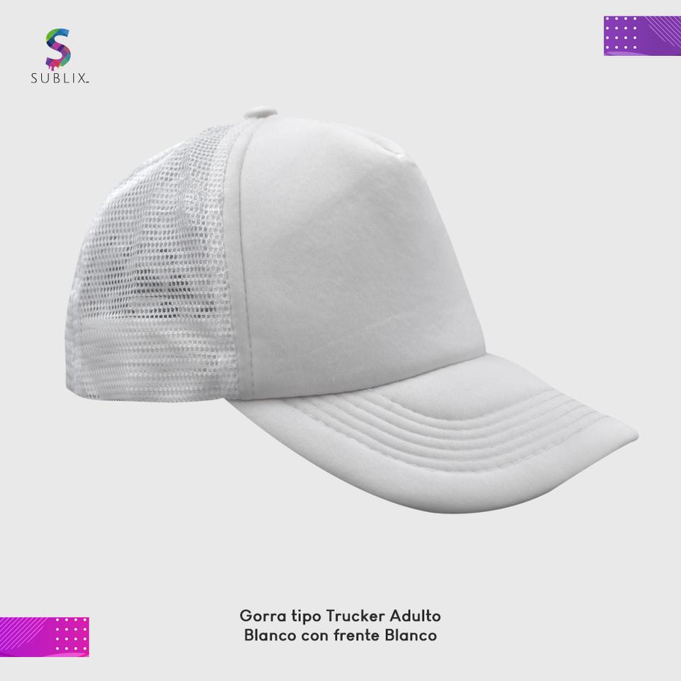 gorra adulto Blanco