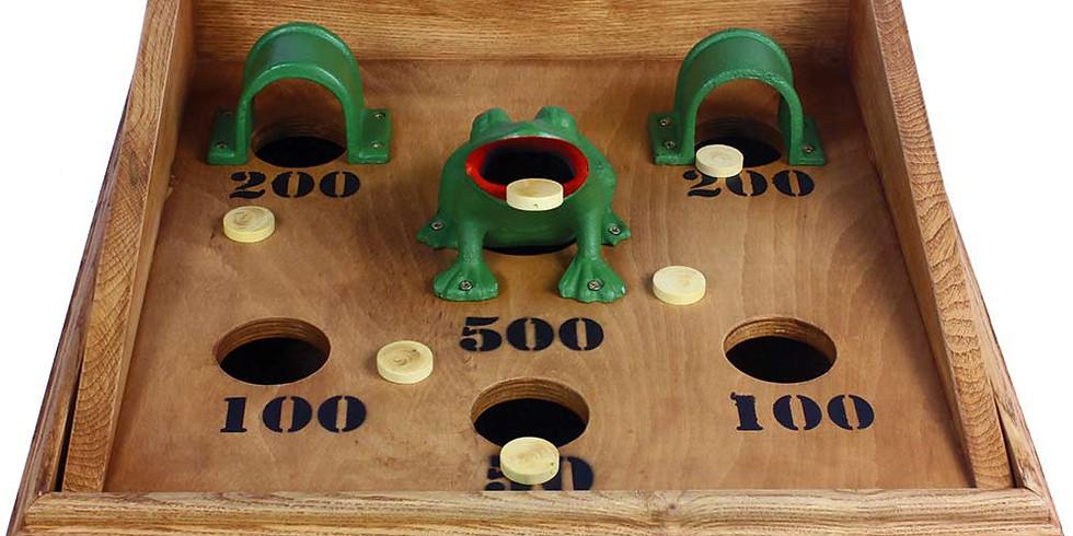 Inscription stand jeu de la grenouille