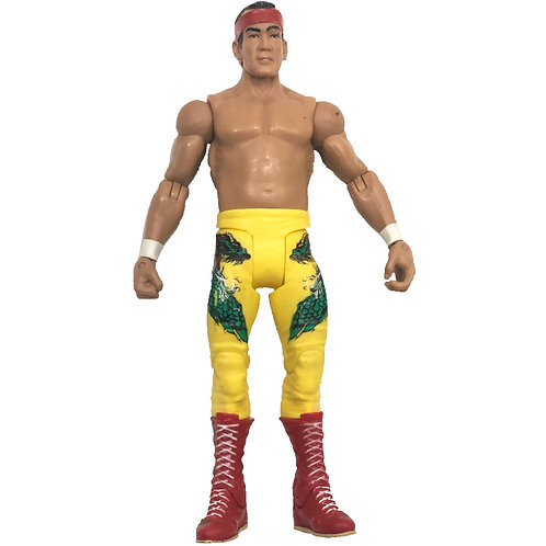 MATTEL 2010 - WWE RICKY THE DRAGON STEAMBOAT