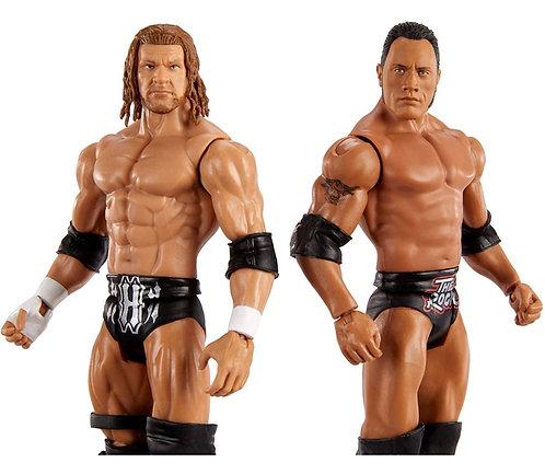 WWE SHOWDOWN ROCK V TRIPLE H #2