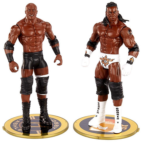 WWE SHOWDOWN LASHLEY v BOOKER #2